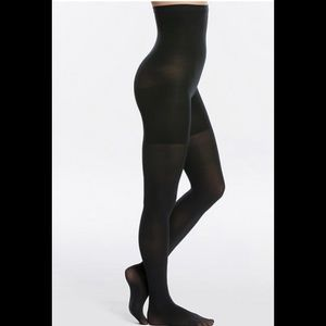 NWOB SPANX High Waisted Tights In Nightcap Navy C